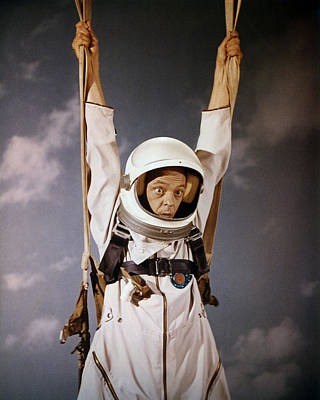 Don Knotts In The Reluctant Astronaut  Poster by Silver Screen
