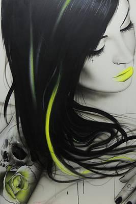 Portrait - 'dream' Poster by Christian Chapman Art