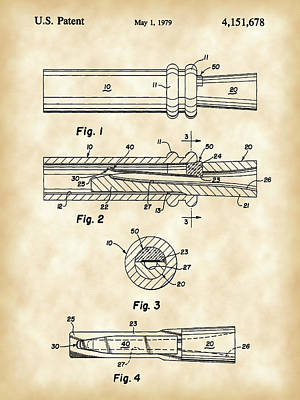 Duck Call Patent 1979 - Vintage Poster by Stephen Younts