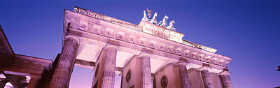 Dusk, Brandenburg Gate, Berlin, Germany Poster by Panoramic Images