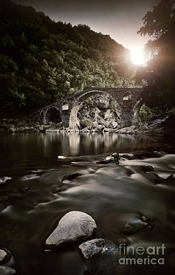 Dyavolski Most Arch Bridge Poster by Evgeny Kuklev