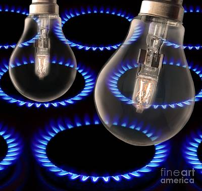 Energy Use, Conceptual Image Poster by Victor De Schwanberg