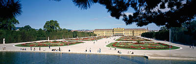 Facade Of A Palace, Schonbrunn Palace Poster by Panoramic Images