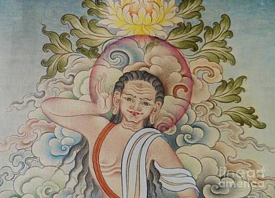 Fine Milarepa Poster by Tenzin Dhonden