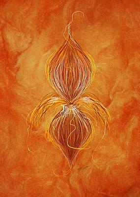 Fleur De Lys Poster by Brenda Bryant