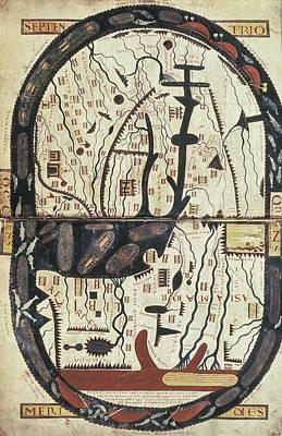 Garcia, Stephanus 11th C.. Saint-sever Poster by Everett