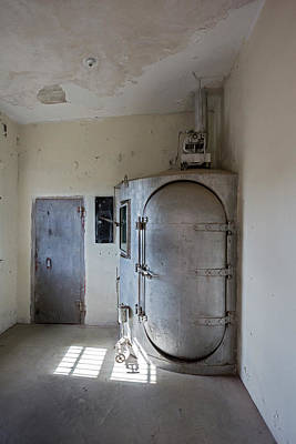 Gas Chamber At Wyoming Frontier Prison Poster by Jim West