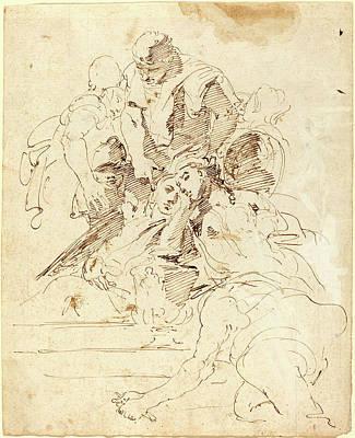Giovanni Battista Tiepolo, Italian 1696-1770 Poster by Litz Collection
