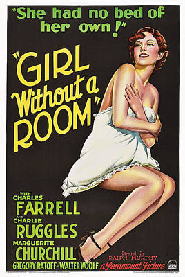Girl Without A Room, Marguerite Poster by Everett