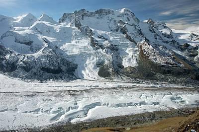 Gorner Glacier Poster by Bob Gibbons