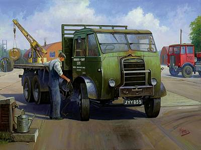 Gpo Foden Poster by Mike  Jeffries