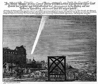 Great Comet Of 1680 Poster by Cci Archives