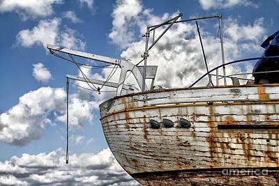 Greek Fishing Boat Poster by Stelios Kleanthous
