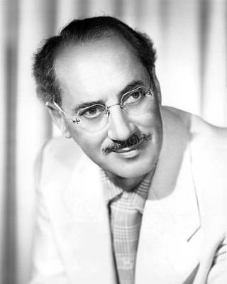 Groucho Marx Poster by Silver Screen