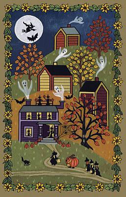 Happy Halloween Poster by Medana Gabbard