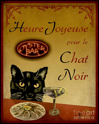 Happy Hour Poster by Laura Toth