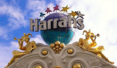 Harrahs Poster by Ron Regalado