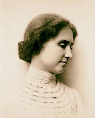 Helen Keller 1904 Poster by Mountain Dreams