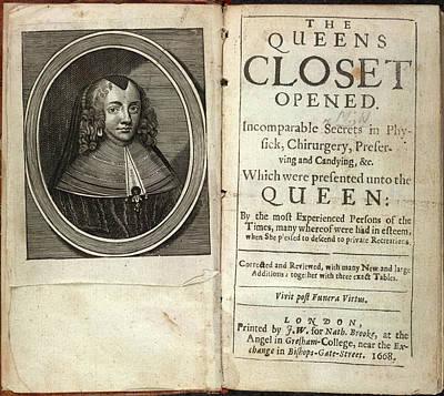 Henrietta Maria Poster by British Library