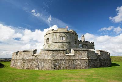 Henry Viii's Fort At Pendennis Castle Poster by Ashley Cooper