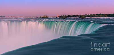 Horseshoe Falls Is A Part Of The Niagara Falls Poster by Henk Meijer Photography
