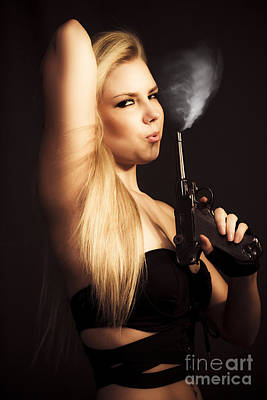 Hot Shot Woman Poster by Jorgo Photography - Wall Art Gallery