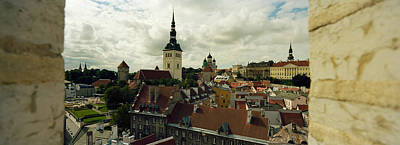 Houses In A Town, Tallinn, Estonia Poster by Panoramic Images