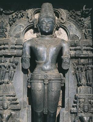 India. Konarak. Sun Temple. Built Poster by Everett