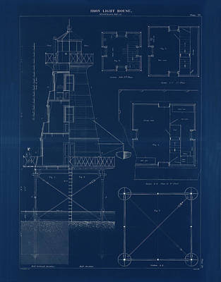 Iron Lighthouse Poster by Jerry McElroy