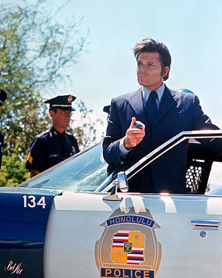 Jack Lord In Hawaii Five-o  Poster by Silver Screen