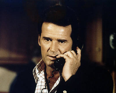 James Garner In The Rockford Files  Poster by Silver Screen