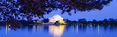 Jefferson Memorial, Washington Dc Poster by Panoramic Images