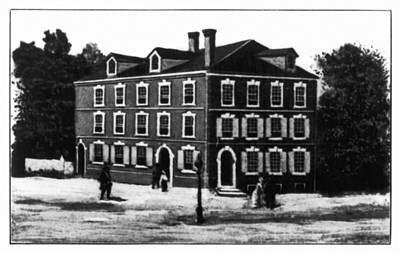 Jefferson's House, 1776 Poster by Granger
