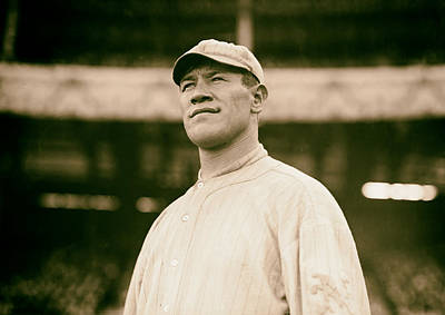 Jim Thorpe - New York Giants 1912 Poster by Mountain Dreams