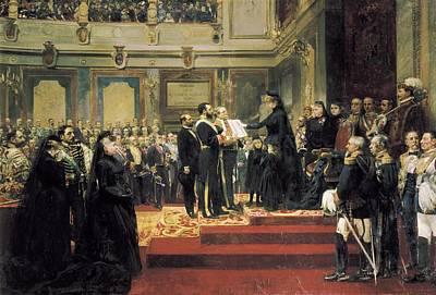 Jover Y Casanova, Francisco 1836-1890 Poster by Everett