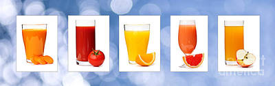 Juices Poster by Elena Elisseeva