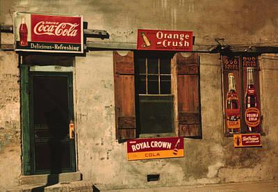 Juke Joint Natchez Mississippi Poster by Marion Wolcott