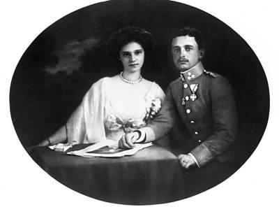 Karl I Of Austria (1887-1922) Poster by Granger