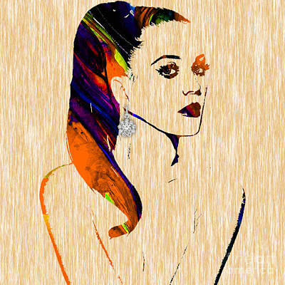Katy Perry Collection Poster by Marvin Blaine