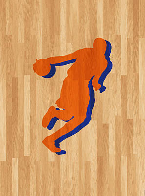 Kevin Durant Oklahoma City Thunder Poster by Joe Hamilton