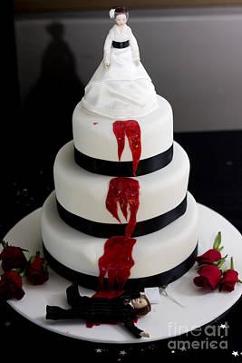 Killer Bride Wedding Cake Poster by Jorgo Photography - Wall Art Gallery