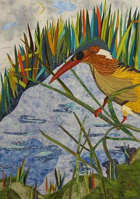 Kingfisher Poster by Lynda K Boardman