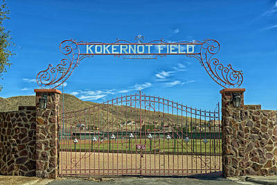 Kokernot Field Poster by Mountain Dreams