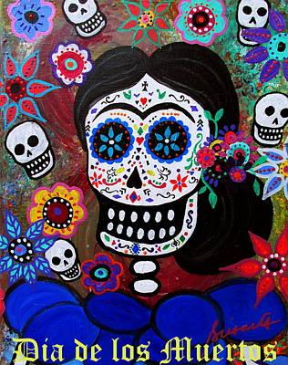 Lady Frida Poster by Pristine Cartera Turkus