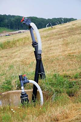 Landfill Gas Recovery Well Poster by Jim West