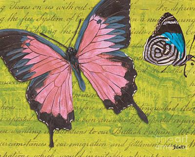 Le Papillon 2 Poster by Debbie DeWitt
