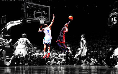 Lebron James Poster by Brian Reaves