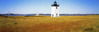 Lighthouse On The Beach, Long Point Poster by Panoramic Images