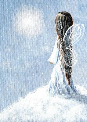 Little Fairy By Shawna Erback Poster by Shawna Erback