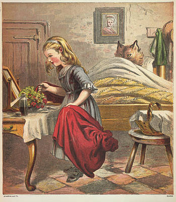 Little Red Riding Hood Poster by British Library